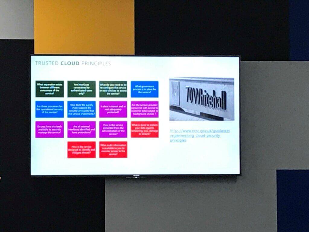 Azure Security & Compliance - SAM Club event 9th Apr 2019